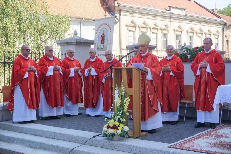 Proslava svetkovine sv. Lovre, zaštitnika Požeške biskupije