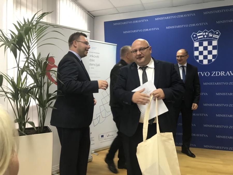 """Domu zdravlja Požeško-slavonske županije kroz Europski socijalni fond """"Učinkoviti ljudski potencijali 2014. – 2020."""" odobrena bespovratna sredstva"""