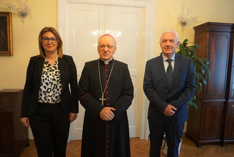 Sastanak s biskupom msgr. Antunom Škvorčevićem