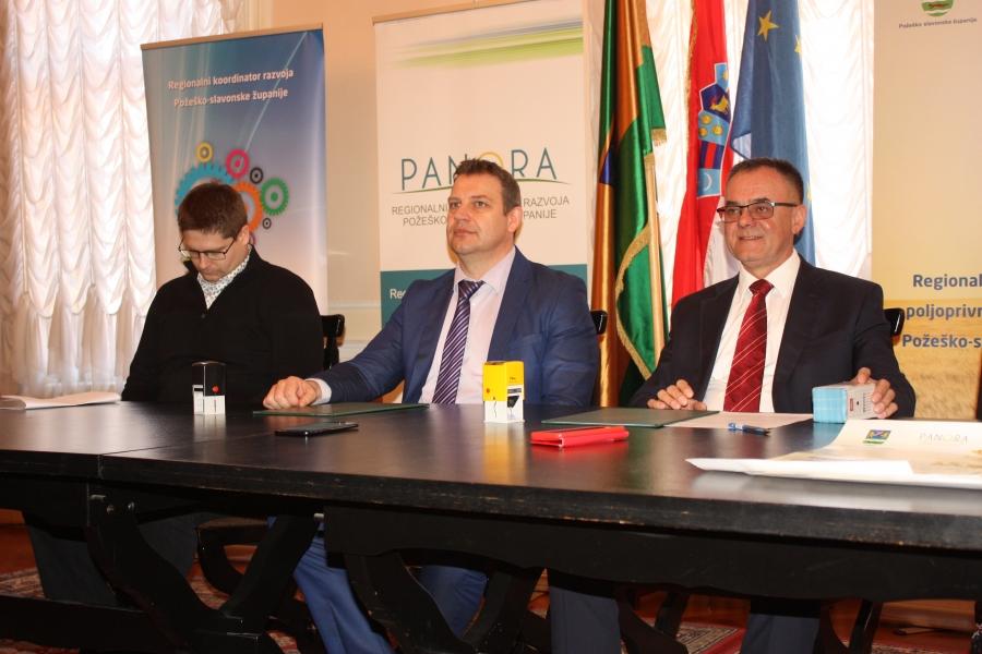 "Početna konferencija projekta ""Regionalni centar razvoja poljoprivredne proizvodnje Požeško – slavonske županije"""