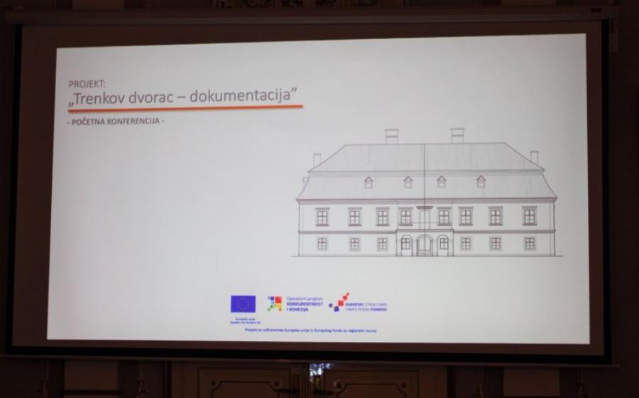 """Početna konferencija projekta """"Trenkov dvorac-dokumentacija"""""""