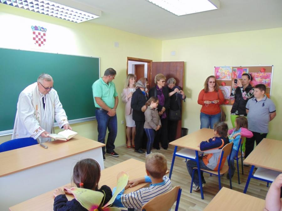 Obnovljena učionica područne škole u Podgorju