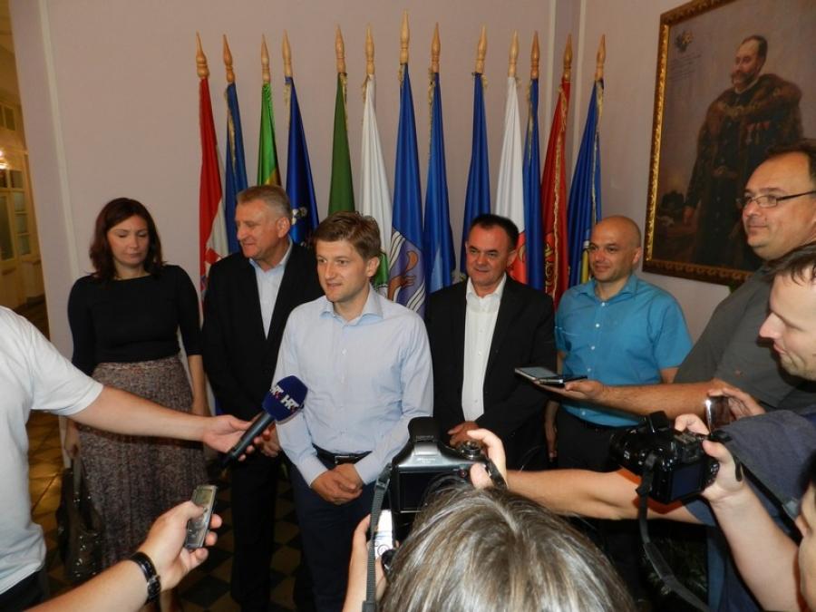 Ministar financija na radnom sastanku sa županom i gospodarstvenicima