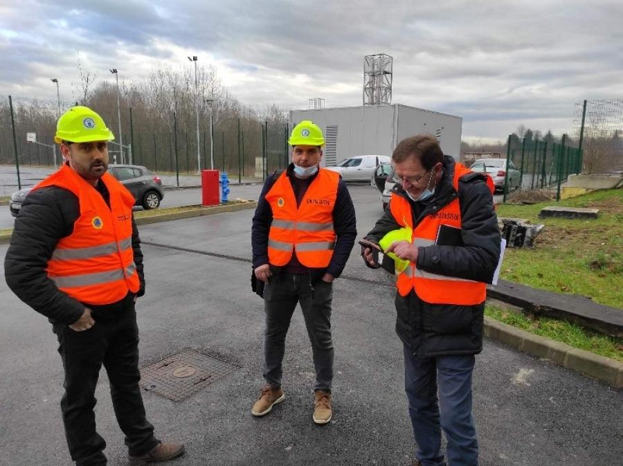 Tim statičara iz Požeško – slavonske županije na procjeni šteta od potresa na području Općine Jasenovac