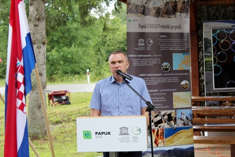 """Održano završno predstavljanje projekta """"Danube GeoTour"""" u Novom Zvečevu"""
