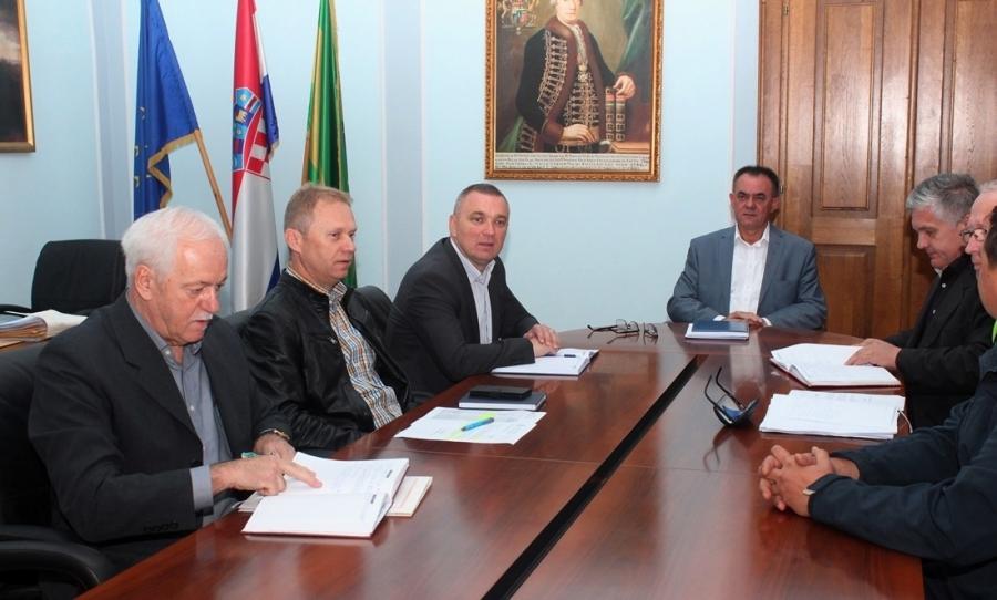 Održan radni sastanak s članovima užeg sastava Stožera civilne zaštite