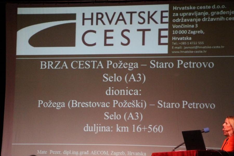 Održana prezentacija brze ceste Požega - Staro Petrovo Selo (A3)