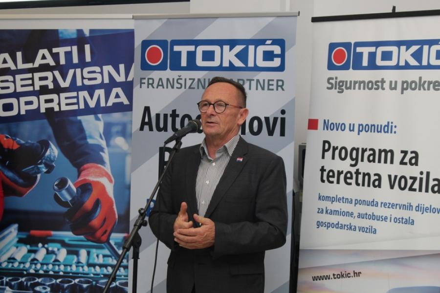 Svečano otvorenje poslovnice Autodijelova Barišić u Požegi