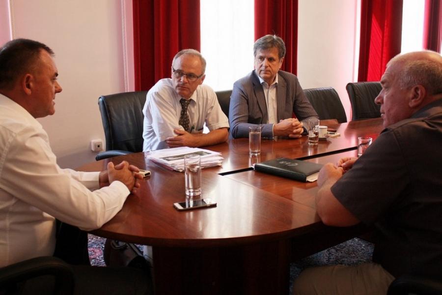Župan primio gradonačelnika Lipika i predstavnike Specijalne bolnice Lipik