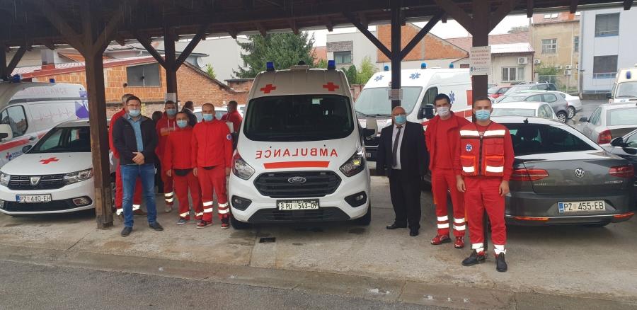 Primopredaja novih vozila Domu zdravlja Požeško-slavonske županije