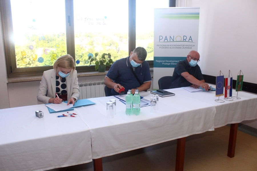 Potpisan ugovor za adaptaciju potkrovlja na Općoj županijskoj bolnici Pakrac i bolnici hrvatskih veterana
