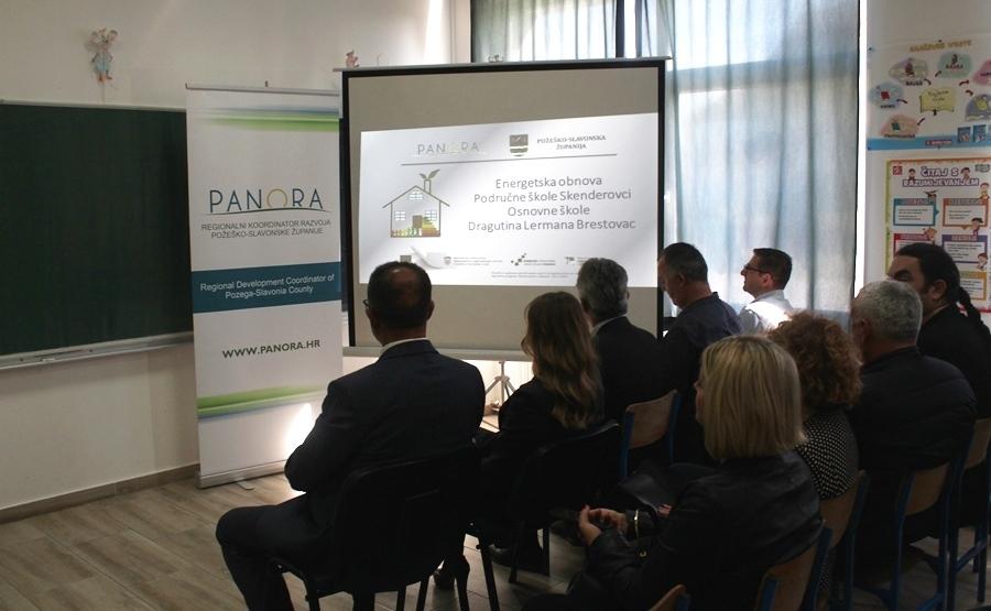 Održana je završna konferencija za projekt Energetska obnova zgrade Područne škole Skenderovci