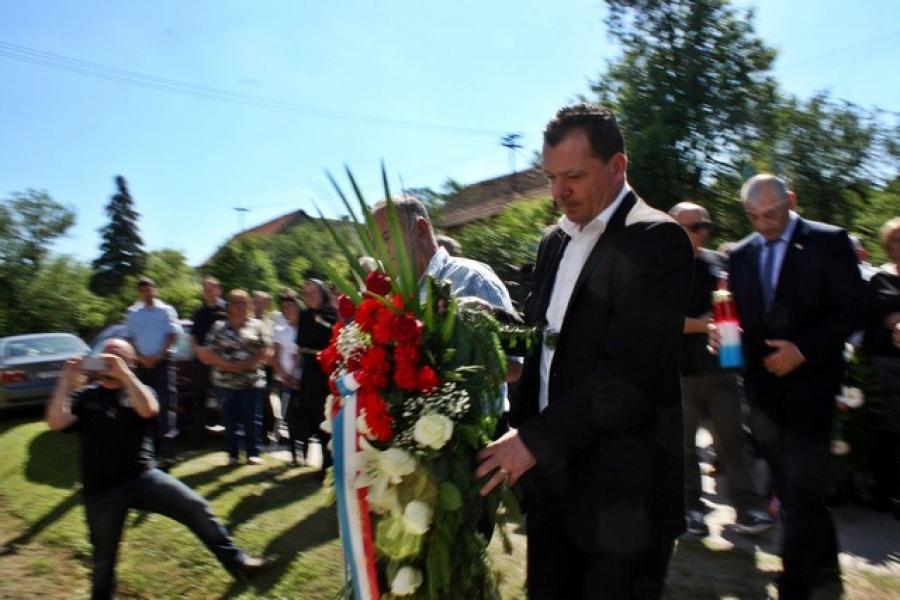 Ministar branitelja Tomo Medved prisustvovao otkrivanju spomen obilježja u Imrijevcima