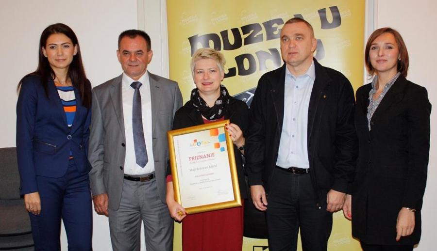 Maja Žepčević Matić proglašena djelatnicom godine u objektu kulturnog nasljeđa