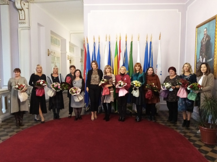 Županica primila nagrađene odgojno – obrazovne djelatnice