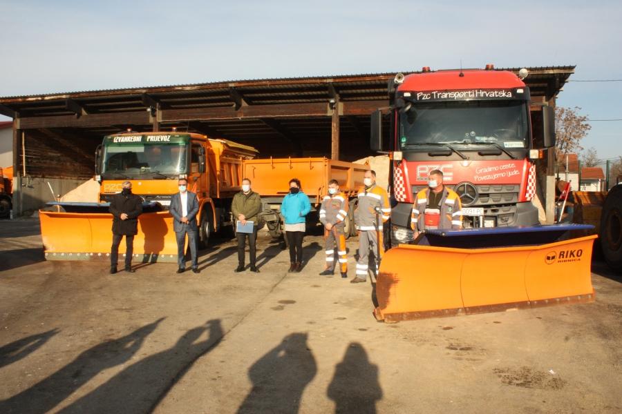 Župan obišao mjesta pripravnosti zimske službe u Požegi
