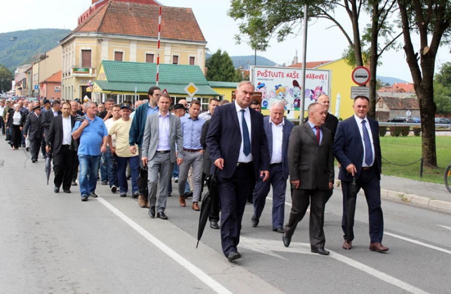 Svečano obilježena 25. obljetnica oslobođenja vojarne i Dan hrvatskih branitelja