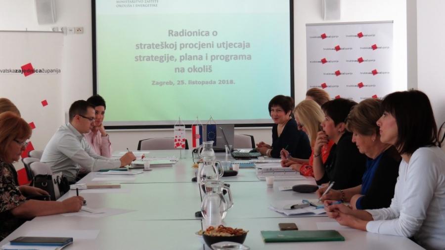 """Radionica """"Strateška procjena utjecaja strategije, plana i programa na okoliš"""""""