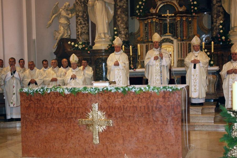 Proslava svetkovine Svete Terezije Avilske