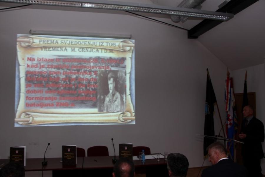 Promocija fotomonografije 63. samostalne gardijske bojne Požega