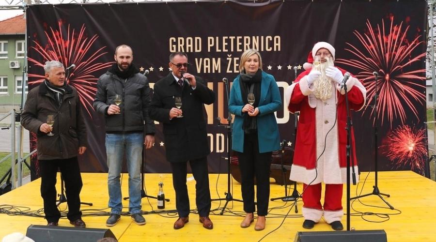 Doček Nove godine u Pleternici