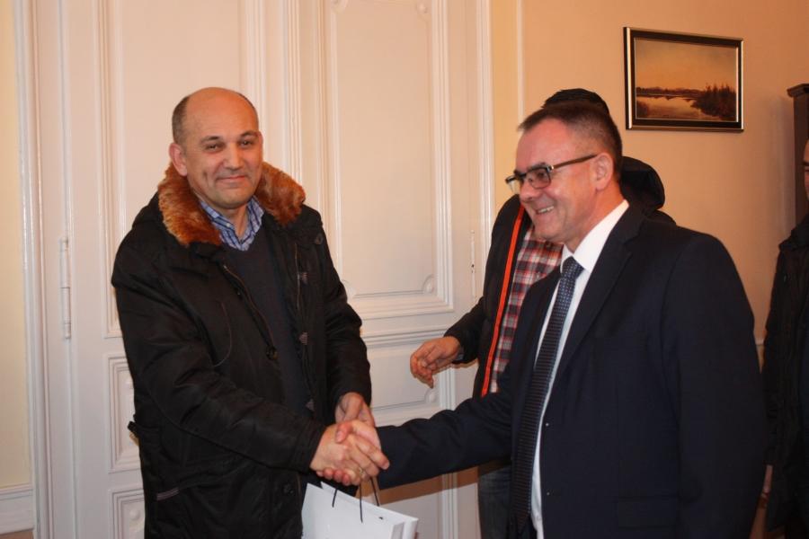 Župan primio proslavljene rukometaše