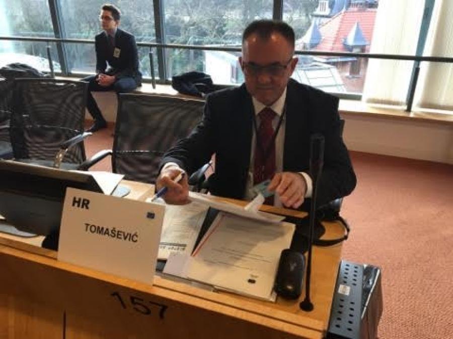 Župan Tomašević na sjednici Odbora regija EU u Bruxellesu