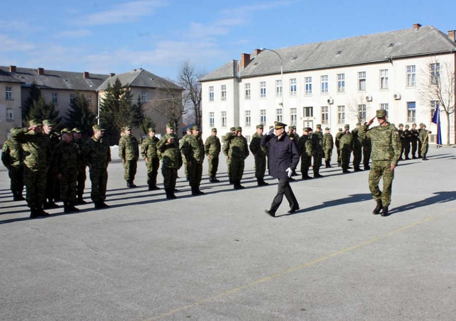 U Vojarni 123. brigade u Požegi održana svečana primopredaja dužnosti zapovjednika