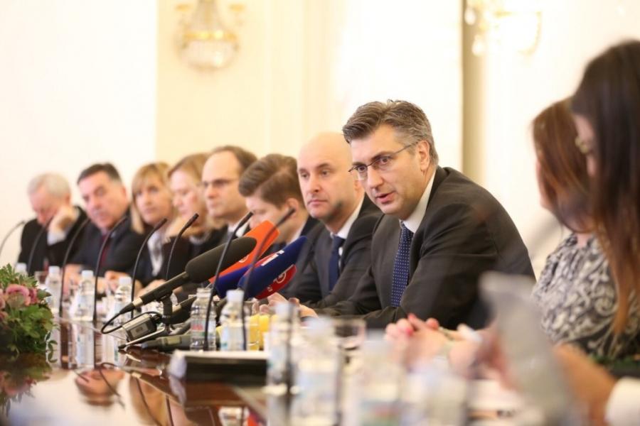 Župan sudjelovao na sastanku sa predsjednikom Vlade Republike Hrvatske