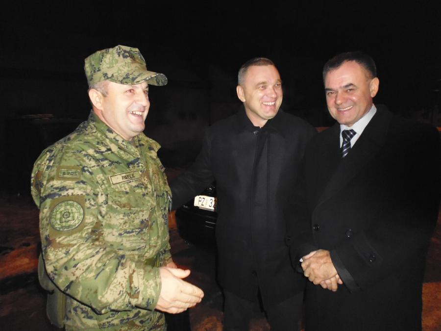 Župan posjetio dežurne službe u novogodišnjoj noći