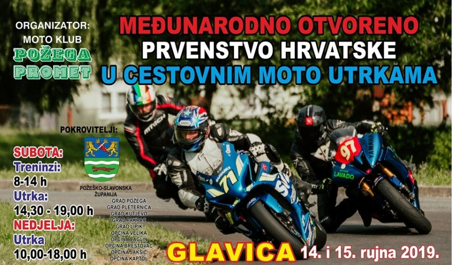 Najava Međunarodnog otvorenog prvenstva Hrvatske u cestovnim moto utrkama