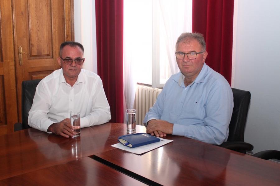 Radni sastanak s pročelnikom Upravnog odjela za poljoprivredu i infrastrukturu Vukovarsko-srijemske županije