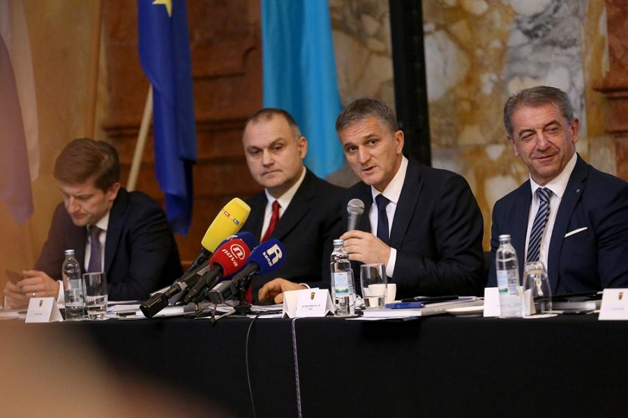 Sastanak Vlade Republike Hrvatske sa županima