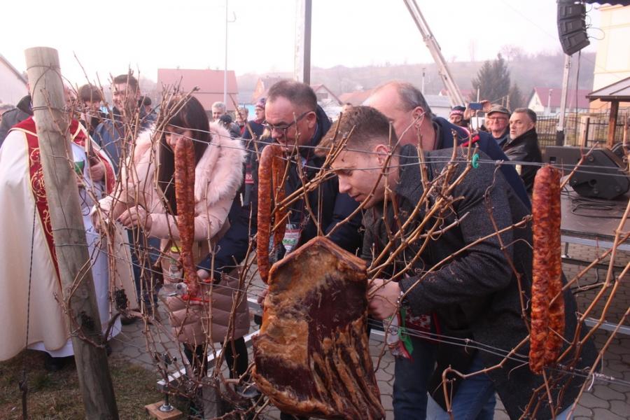 Proslava Vincelova na Trgu sv. Vinka u Vetovu