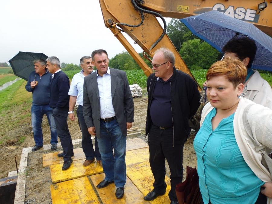 Župan obišao gradilišta na pakračkom području