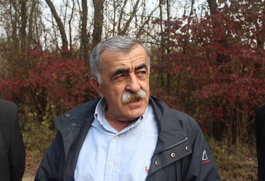 Župan obišao radove na cesti u općini Čaglin