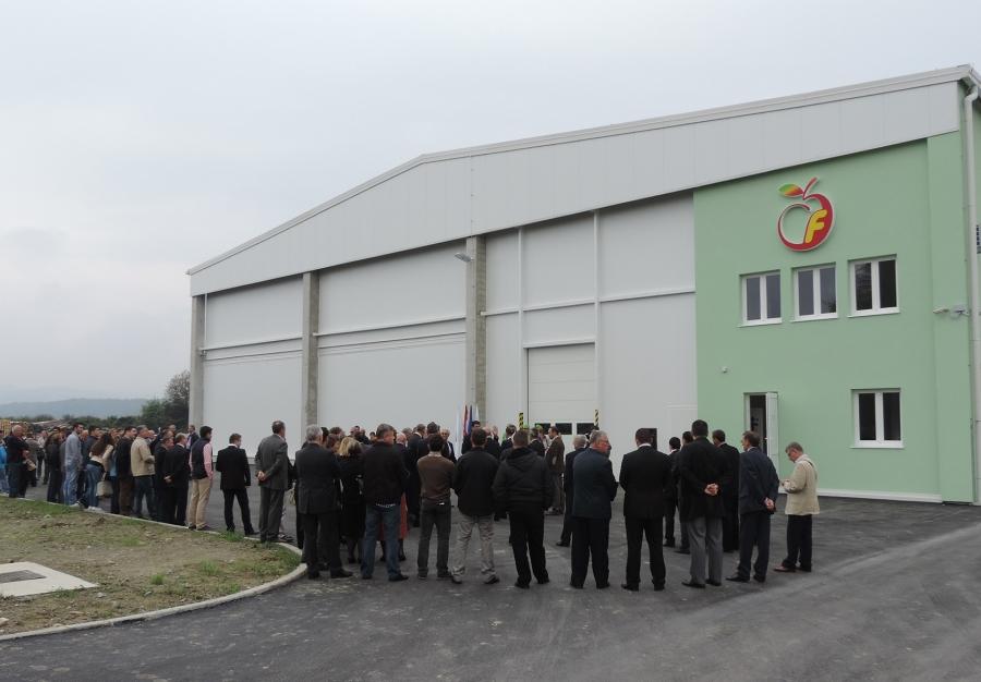Povodom Dana Grada u Lipiku otvorena nova hladnjača za voće