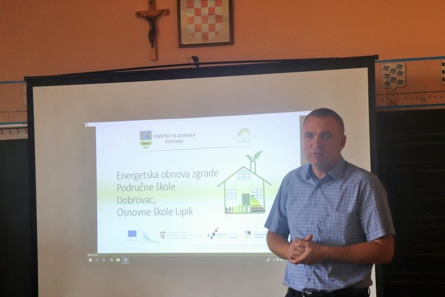 """Završna konferencija projekta """"Energetska obnova zgrade Područne škole Dobrovac"""""""
