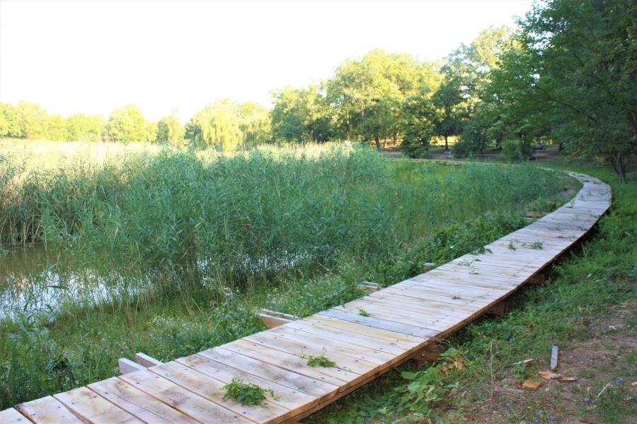 Gradi se poučna šetnica na Sovskom jezeru