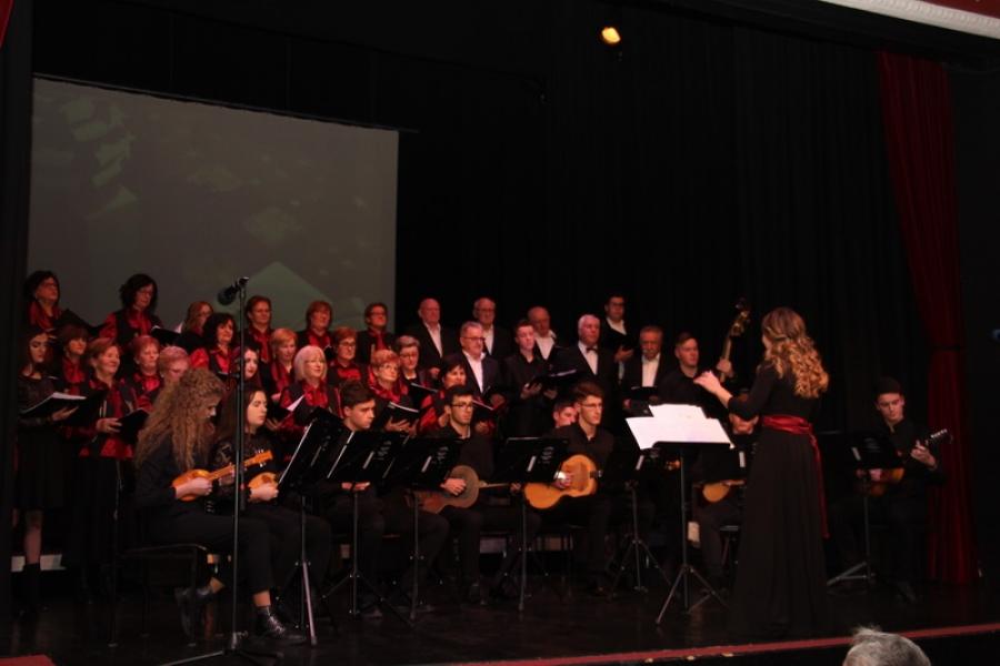 Tradicionalni Božićni koncert Ličkog zavičajnog društva Vila Velebita Požega