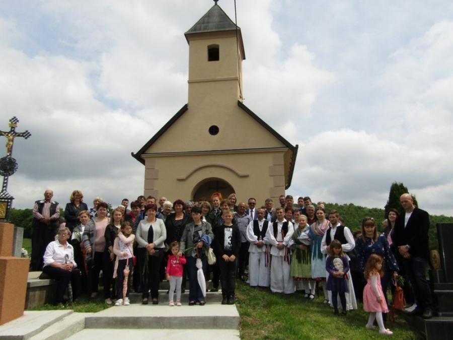 Obnovljena kapelica Svih Svetih u Požeškoj Koprivnici