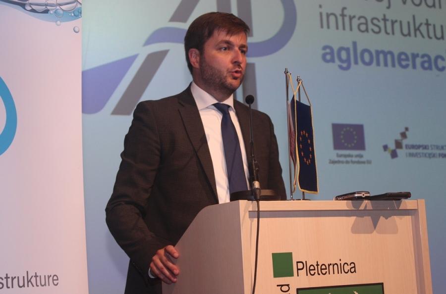 """Uvodna konferencija EU Projekta """"Razvoj vodnokomunalne infrastrukture aglomeracije Pleternica"""""""