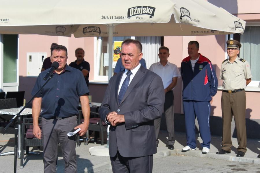 Župan otvorio 24. športsko natjecanje invalida Domovinskog rata
