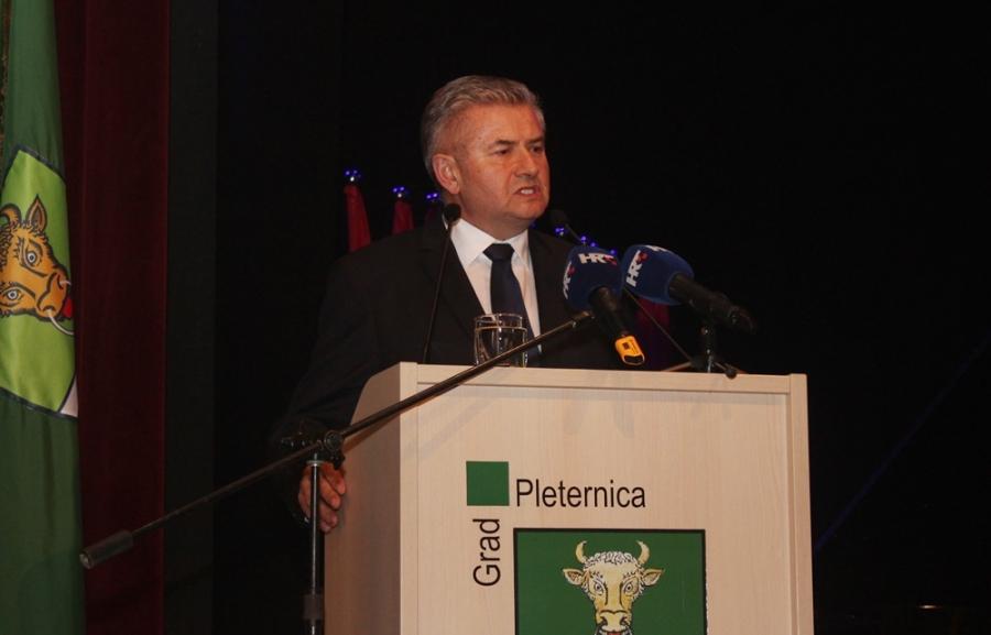 Svečana sjednica Gradskog vijeća povodom Dana grada Pleternice