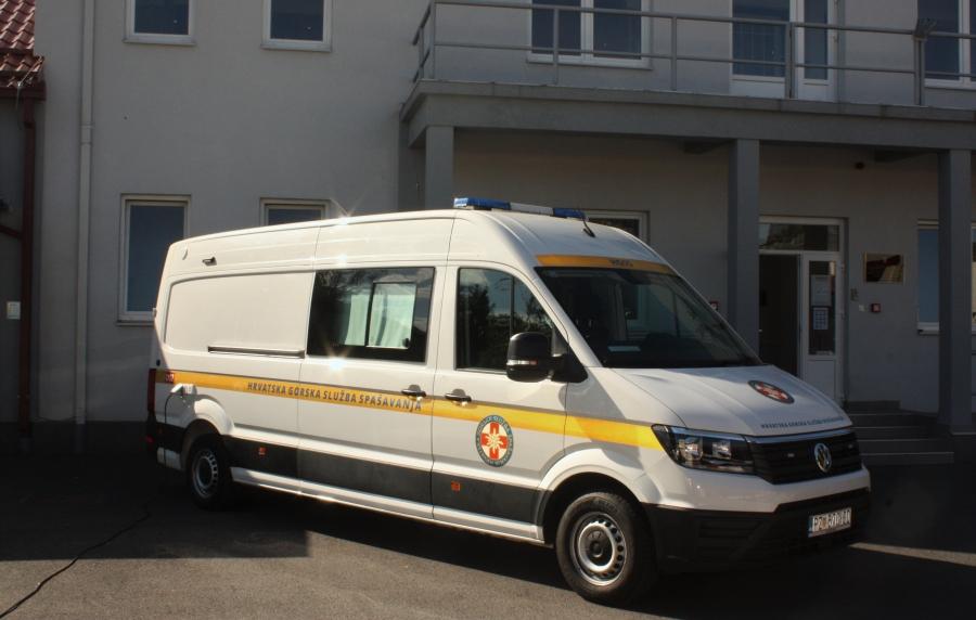 Prezentacija novog zapovjednog vozila HGSS-a
