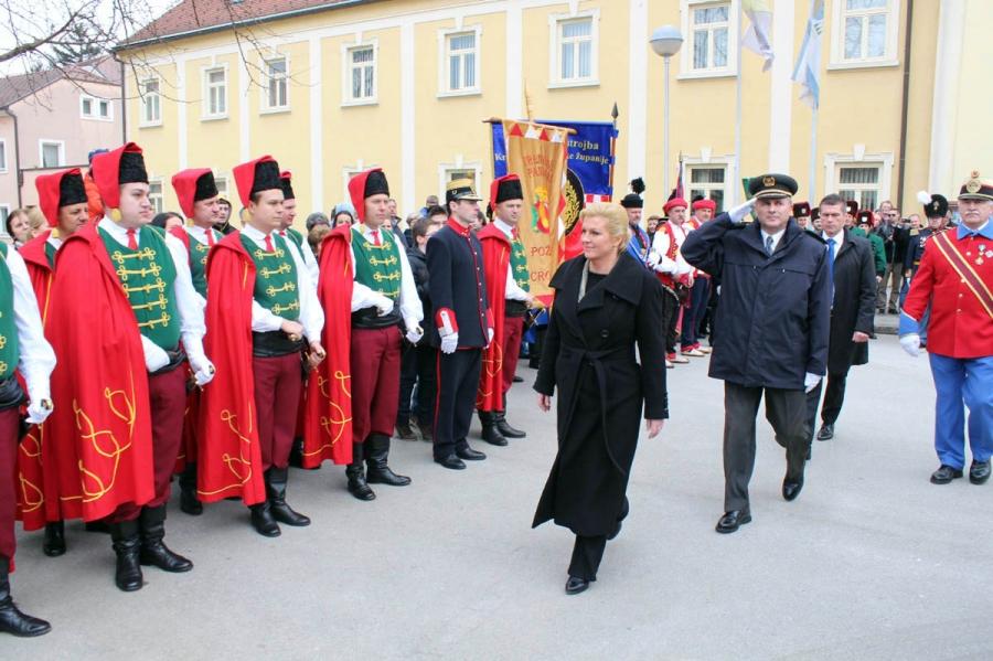 Predsjednica Republike Hrvatske Kolinda Grabar - Kitarović u Požeško - slavonskoj županiji