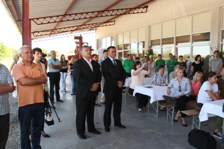 Župan posjetio Dan otvorenih vrata buče i bučinog ulja u Tvrtki Grbić d.o.o.