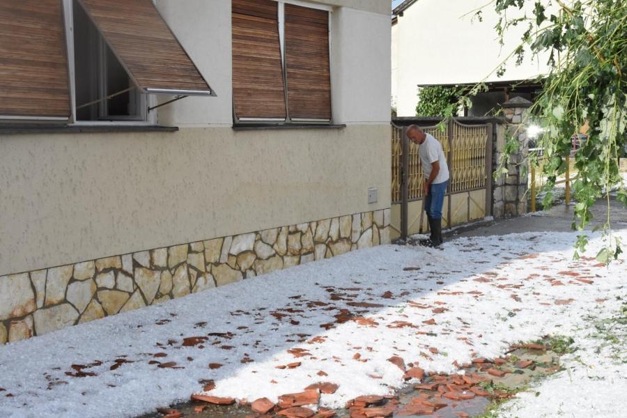 Požeško-slavonsku županiju pogodilo olujno nevrijeme