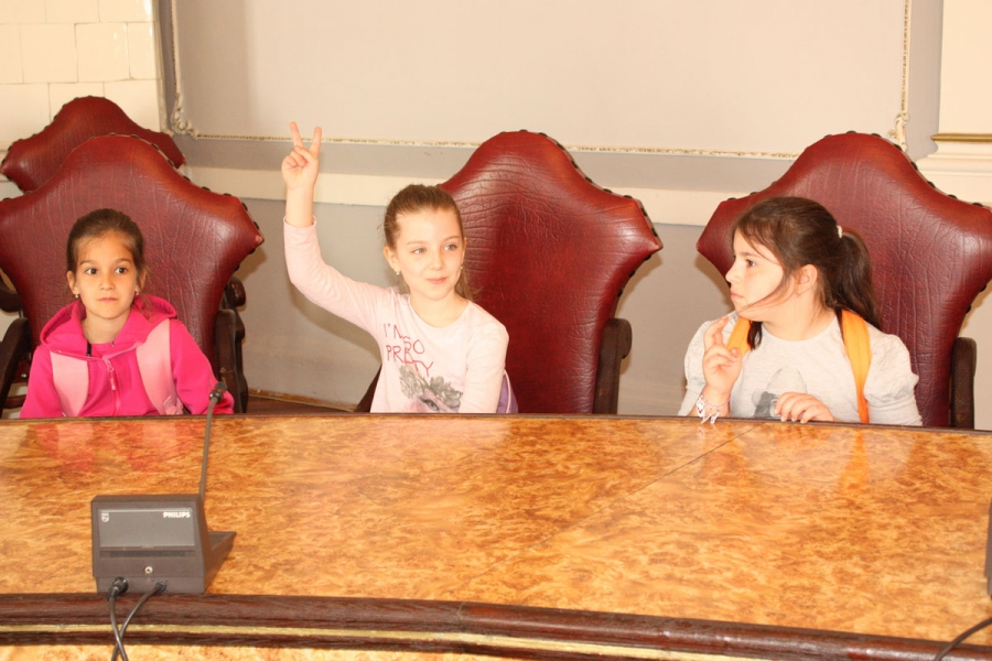 Učenici veličke osnovne škole posjetili županiju
