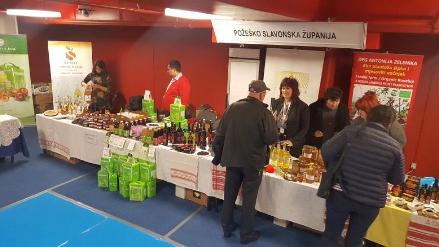 Poljoprivredna gospodarstva iz Požeško-slavonske županije na sajmu u Splitu